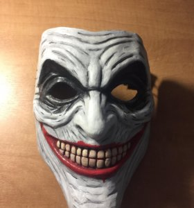 Маска Джокера ручной работы