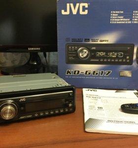 Магнитола JVC KD-G617