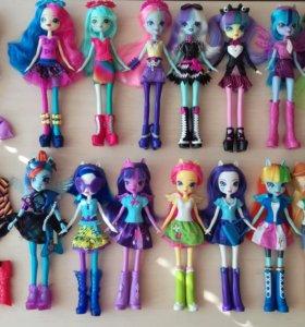 Куклы Equestria girls My little pony пони