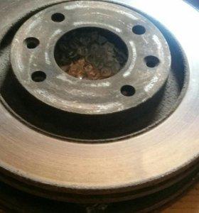CITROEN C4 , PEUGEOT, торм диски передние
