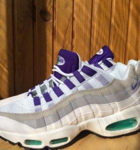 Nike air max 95 White x Purple