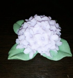 Гортензия, цветы, мыло ручной работы