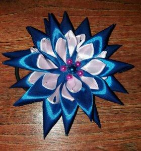 Резинка для волос в стиле канзаши