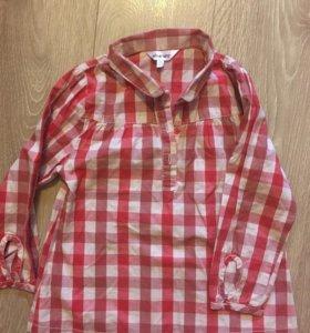 Рубашка для девочки (104 р.)