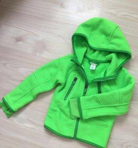 Флисовая кофта куртка Н&М
