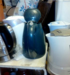 Чайники электро брэндовые металлические.новые