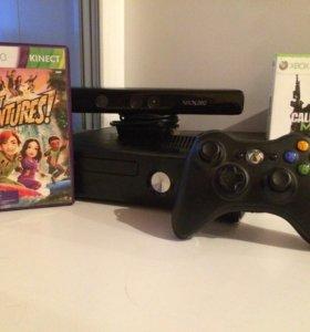 Xbox360+Kinect+2 игры
