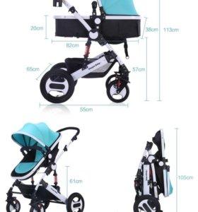 Новая коляска Dracon baby