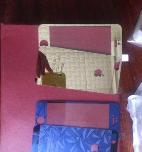 Стекла на iPhone 5/5s