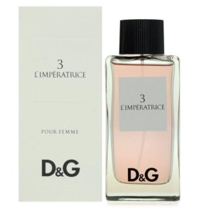 Туалетная вода женская DG L'imperatrice 3