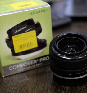Объектив Lensbaby composter Pro Sweet 35mm canon