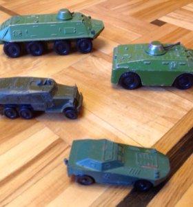 Модели боевых машин
