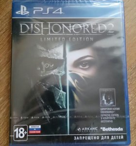 Игра PS4 Dishonored 2