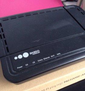 Wi-fi роутер HG 100 RE-AK (Акадо)