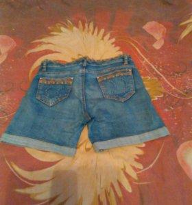 Летние джинсовые шорты