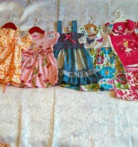 Платье (86-92) сарафан,костюм,одежда