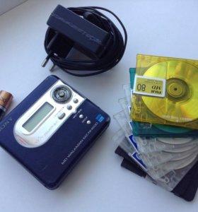 Sony MD плеер рекордер MZ-NH600. Обмен.