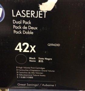 Картридж HP LaserJet 42x черный