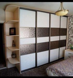 Шкаф-купе 18 на заказ от Фабрики мебели МАЛЬТА