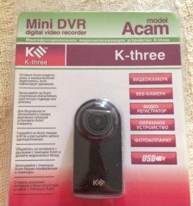 Action-камера видеорегистратор Acam K-three