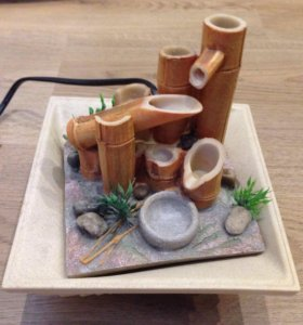 Декоративный фонтанчик-помпа