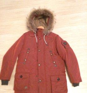 Куртка зимняя (парка подростковая) PULKA. 164 см