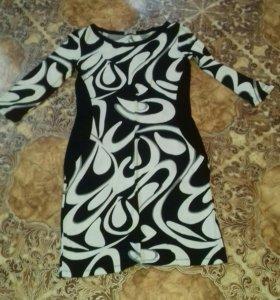 Платье лёгкий трикотаж