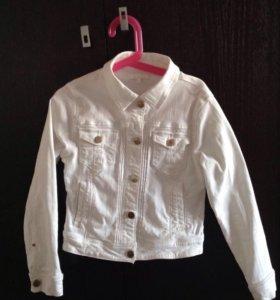 Джинсовая куртка Zara kids