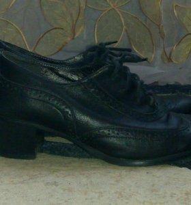 Ботинки кожаные 37р