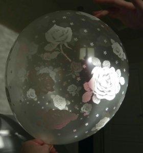 Воздушные шары. На свадьбу или девичник