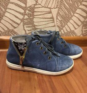 Ботинки для девочки р33-34