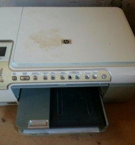 HP принтер 3 в 1