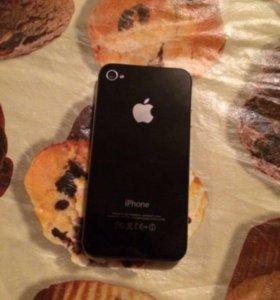 IPhone 4s 64 ГБ Чёрный в идеальном состоянии