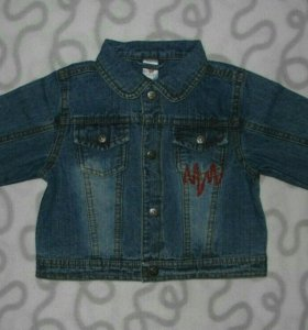 Куртка джинсовая Baby Club, 80 см