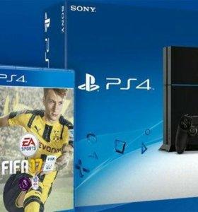 PS 4. Sony PlayStation + FIFA 17