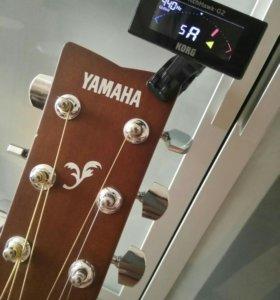Yamaha f310 + KORG PitchHawk-G2 + Чехол