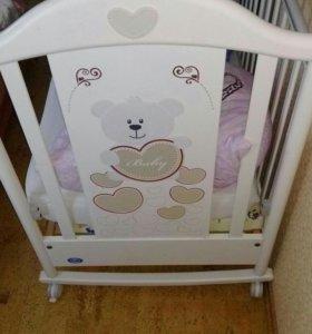 Кроватка pali baby-baby