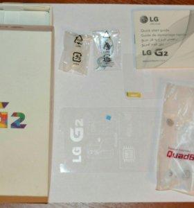 Коробка от LG G2 D802 32Gb