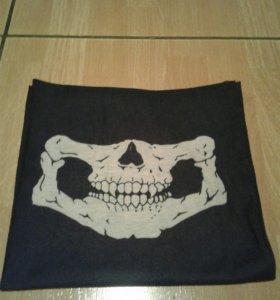 Маска скелет +шарф.