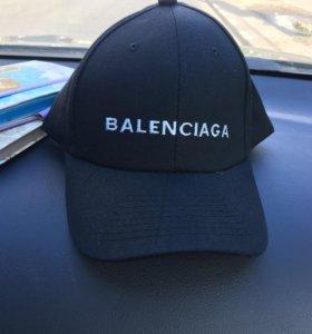 Кепка Balenciaga новая чёрная