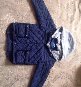 Демисезонная утепленная  куртка для мальчика