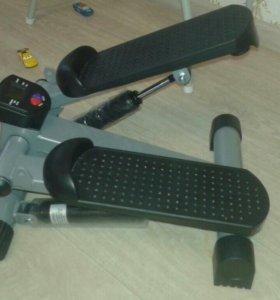 Степпер с комплектом для фитнеса
