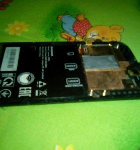 Дисплей + тачскрин на Lenovo s820
