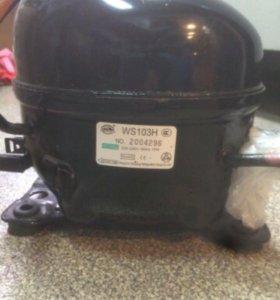 компрессор для морозильного ларя новый в упаковке
