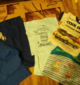 Вещи на мальчика пакетом р-р 92