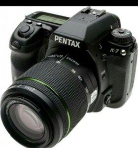 зеркальный фотоаппарат Pentax k 7