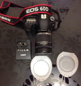 Фотоаппарат Canon EOS 60D с объективом
