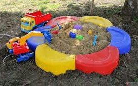 """Ограждение для песка """"ромашка"""""""