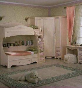 Двухъярусная кровать дива