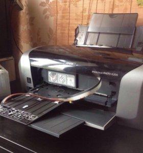 Струйный цветной принтер Epson Stylus PHOTO R200